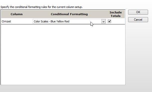Je hebt verschillende opmaak opties voor Excel