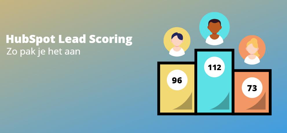 HubSpot lead scoring zo pak je het aan