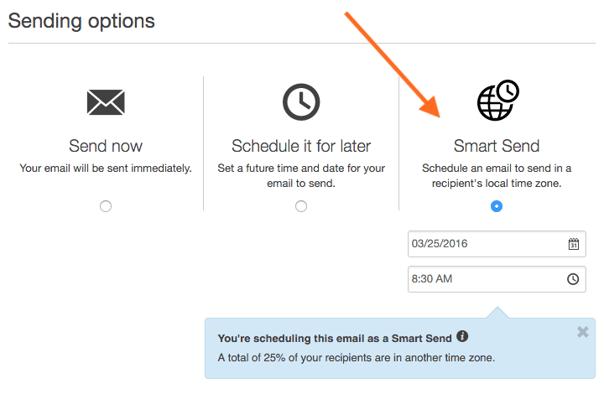HubSpot Smart Send