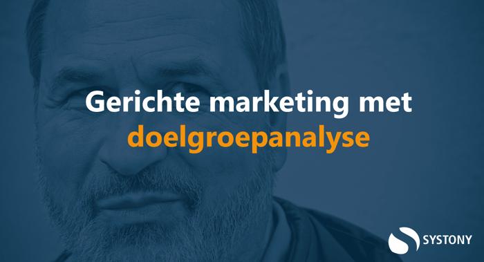 Door een doelgroep analyse uit te voeren kun je gerichte marketing uitvoeren. Hoe zet je doelgroepanalyse in voor je marketingafdeling? Lees het in dit blog: gerichte marketing met doelgroepanalyse.