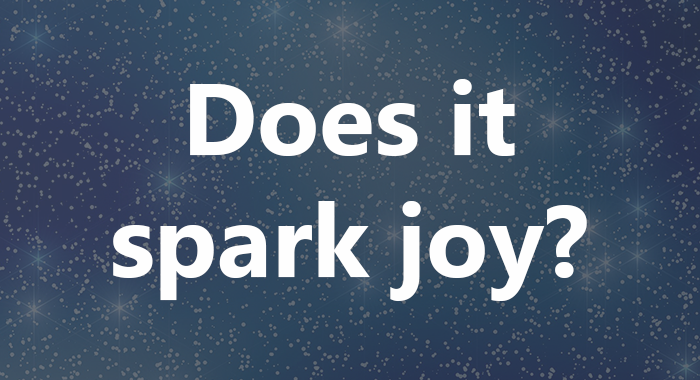 does-it-spark-joy