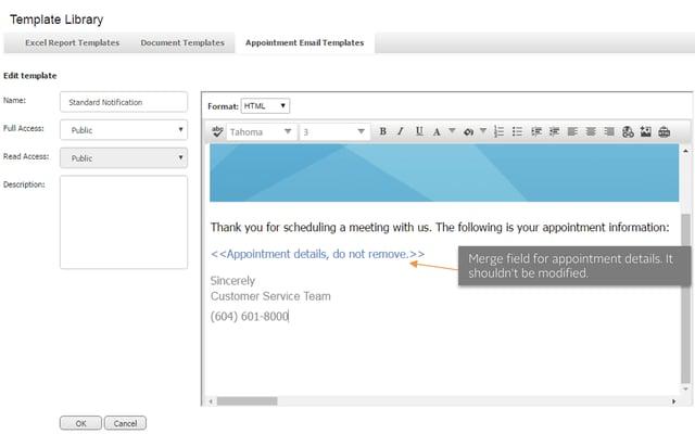 Maximizer CRM 2017 e-mailtemplates