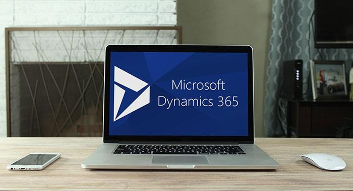 microsoft dynamics 365 laptop