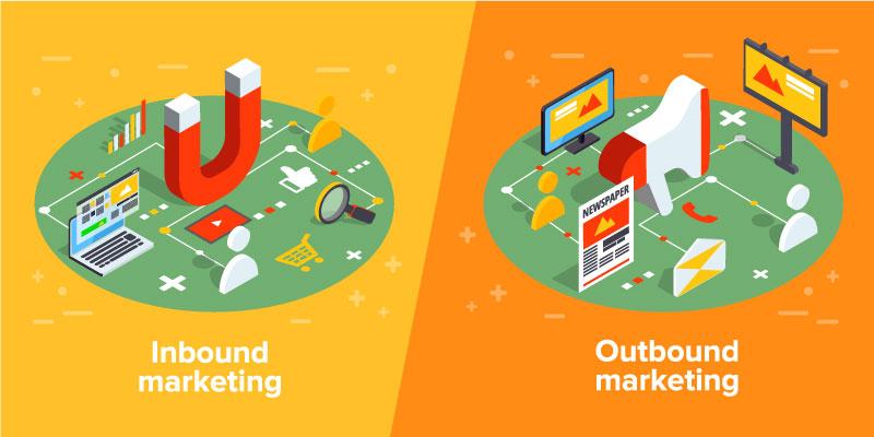 Wat is inbound marketing en wat is outbound marketing? In dit blogartikel vergelijken we deze twee marketingmethodes en lees je hoe je Inbound marketing of outbound marketing het beste inzet.
