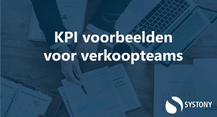 KPI voorbeelden