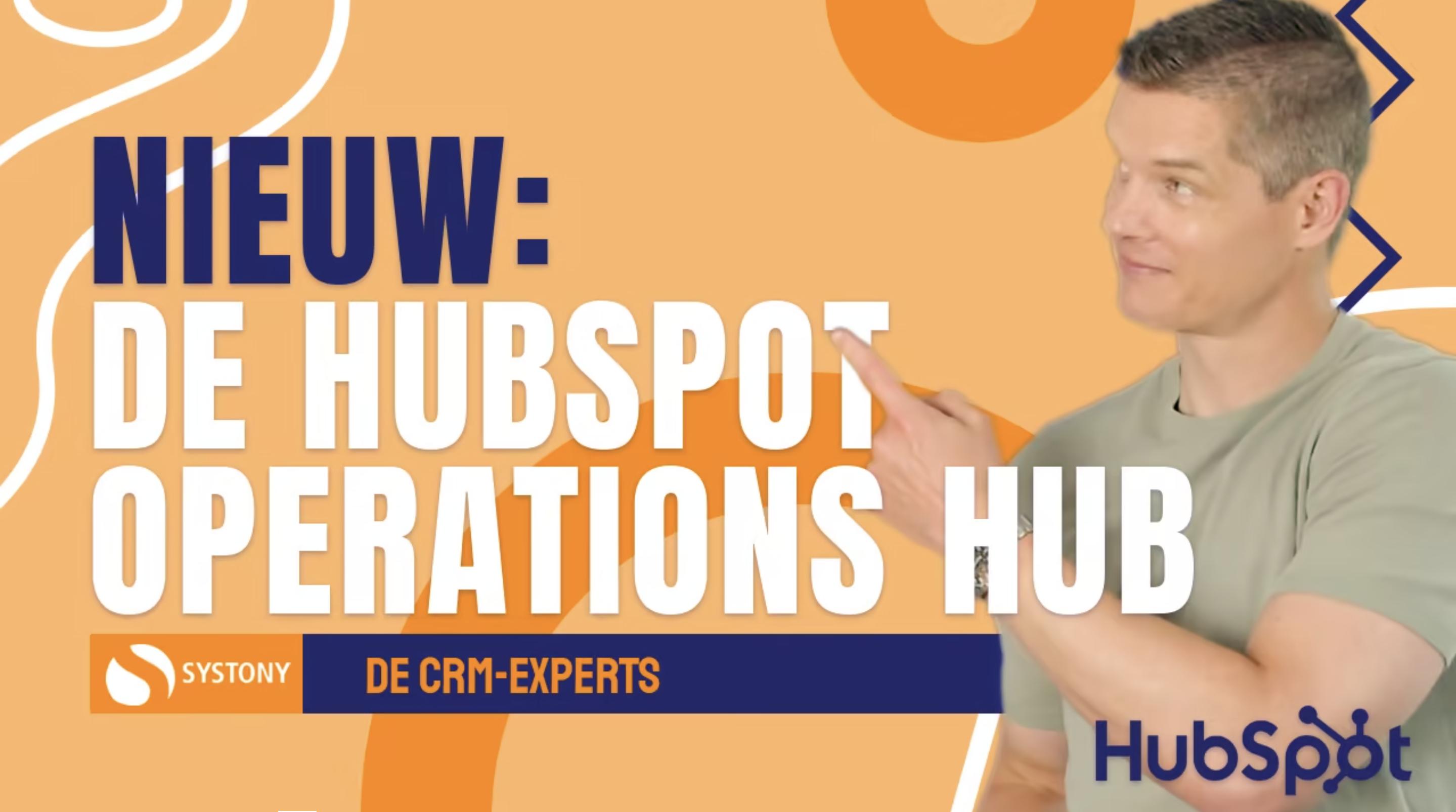 [VIDEO] Nieuw, de HubSpot Operations Hub