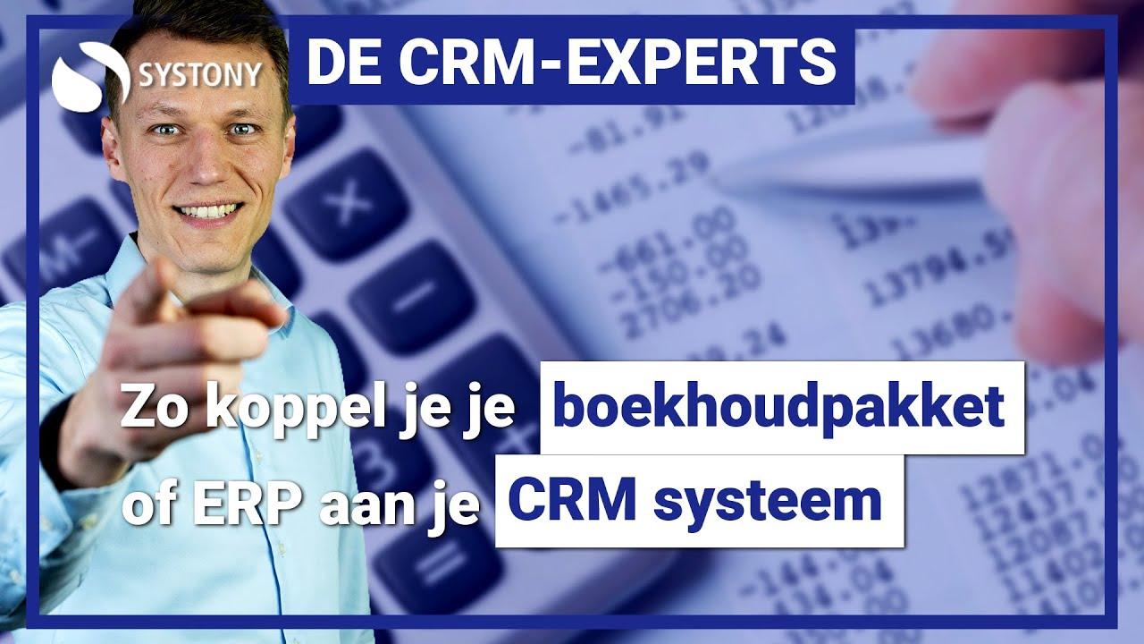 [VIDEO] Koppel een boekhoudpakket of ERP aan jouw CRM-systeem