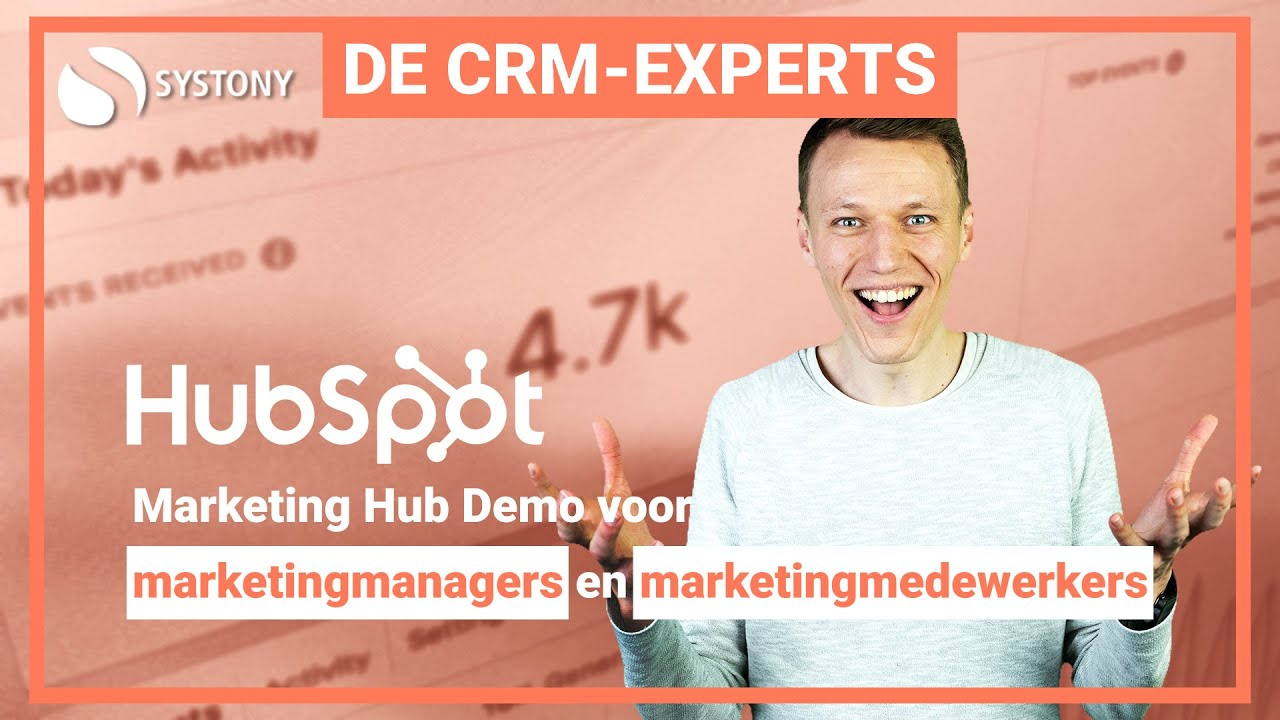 [VIDEO] Ontdek de alles-in-1-marketingtool HubSpot Marketing Hub