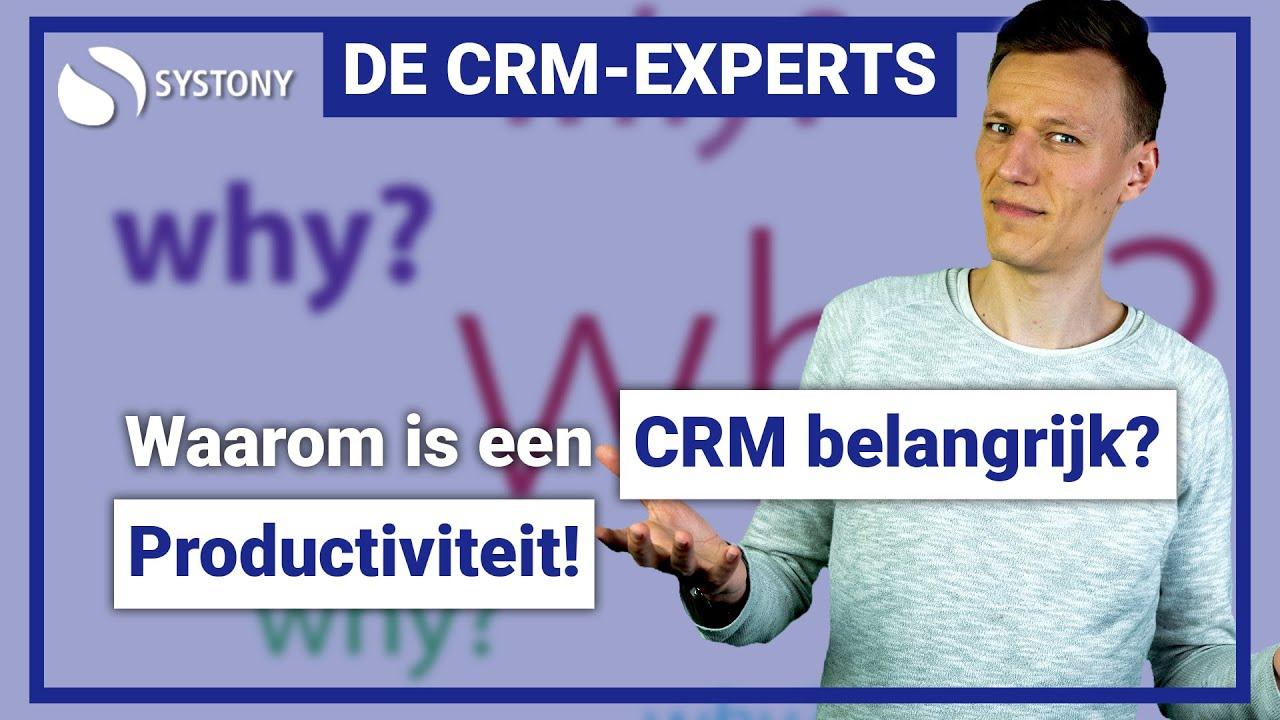[VIDEO] Verhoog de productiviteit van jouw team met een CRM-systeem