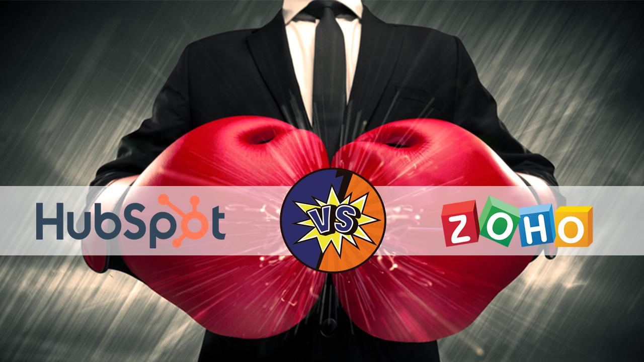CRM-systemen met elkaar vergeleken: HubSpot CRM en Zoho CRM