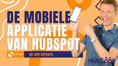 [VIDEO] Showcase mobiele app van HubSpot